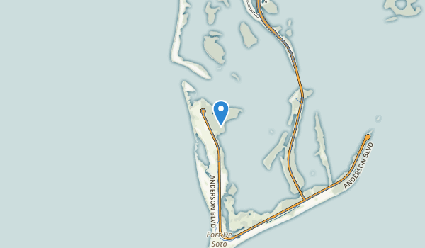 Fort Desoto County Park Map