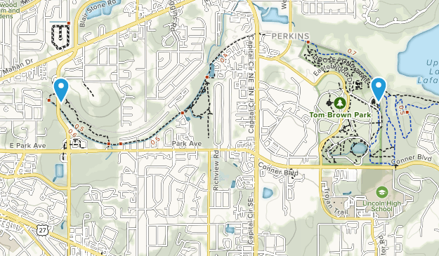 Parque Govenors Map