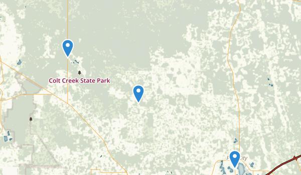 Green Swamp Wildlife Management Area Map