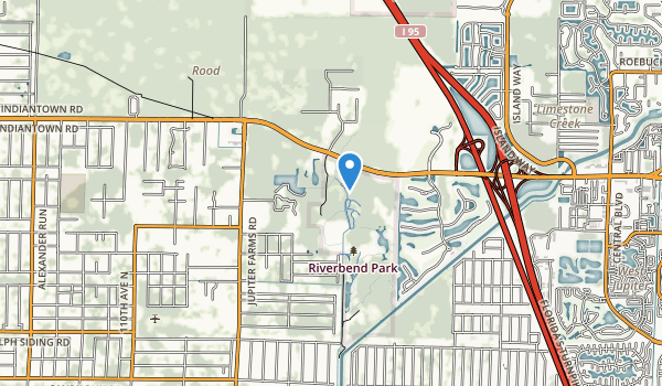 Loxahatchee River Bend Park Map