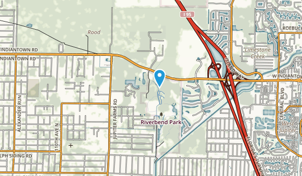 Loxahatchee River Bend Park Map