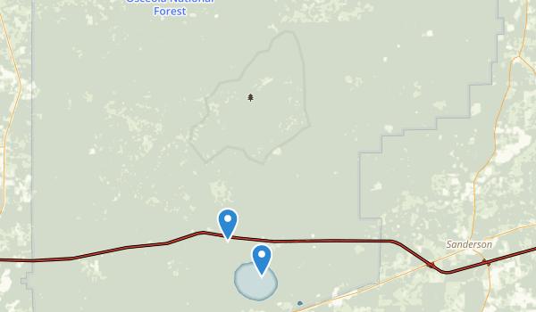 Osceola Natural Area Map