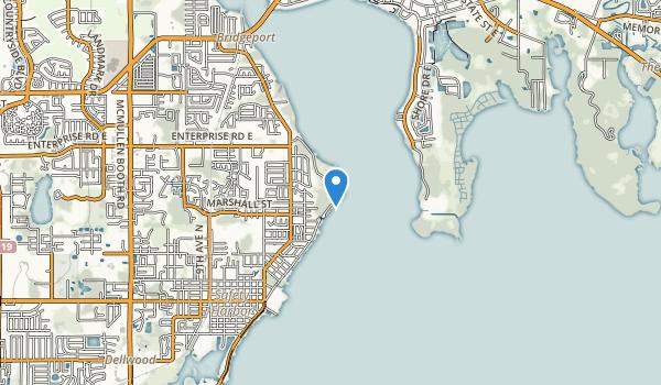 Philippe Park Map