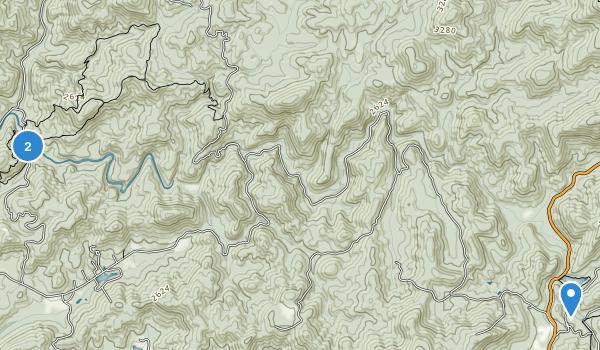 Coopers Creek Wildlife Management Area Map