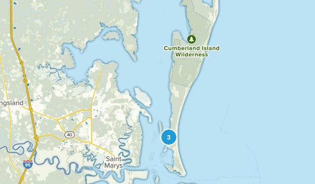 Cumberland Island National Seashore Map