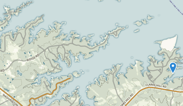 Fort Gordon Recreation Area Map