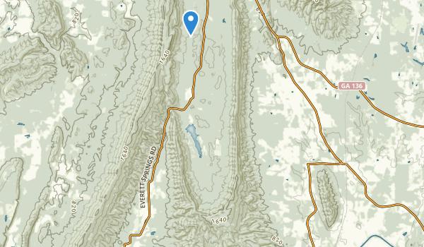 Johns Mountain Wildlife Management Area Map