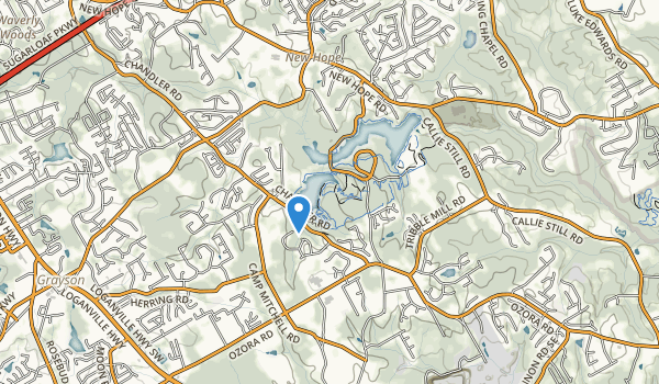 Tribble Mill Park Map
