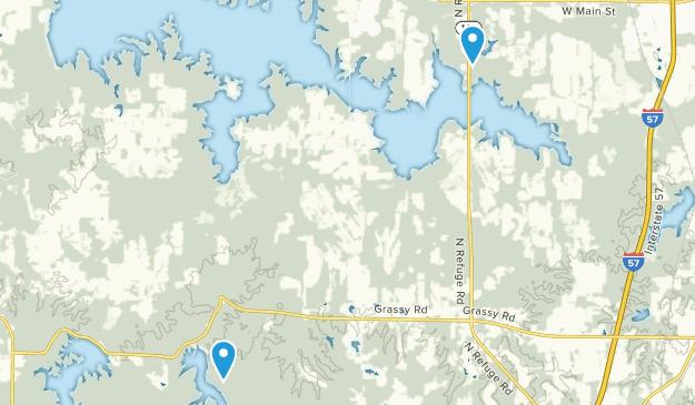 Crab Orchard National Wildlife Refuge Map