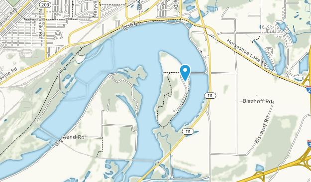 Horseshoe Lake State Park Map