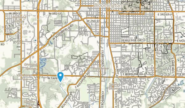 Bryan Park Map
