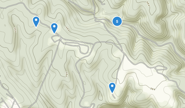 Carter Caves State Resort Park Map