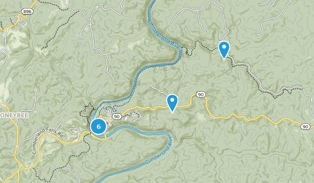 Parque Estatal Cumberland Falls Map