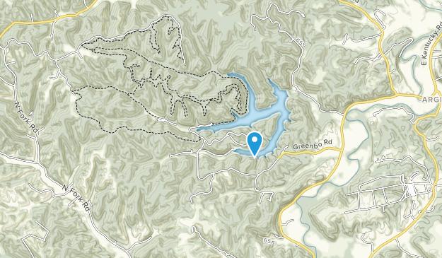 Greenbo Lake State Resort Park Map
