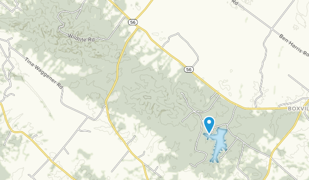 Higginson-Henry Wildlife Management Area Map