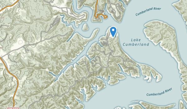 Lake Cumberland State Park Map