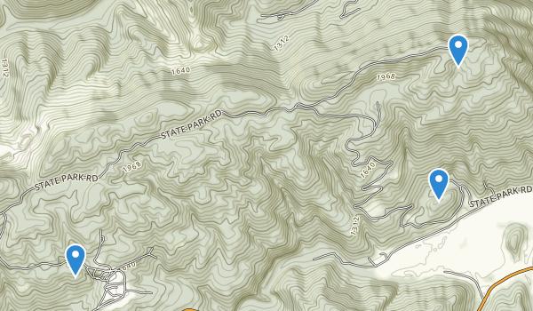 Pine Mountain State Resort Park Map