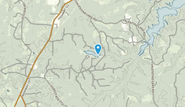 Valentine Recreation Area Map