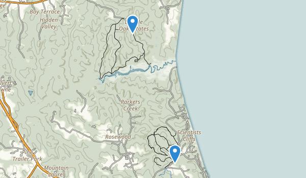 American Chestnut Land Trust Map