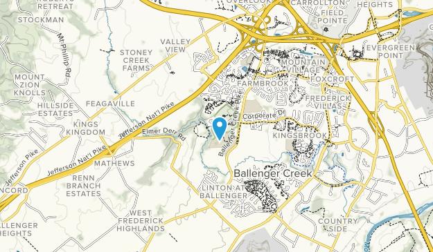 Ballenger Creek Park Map