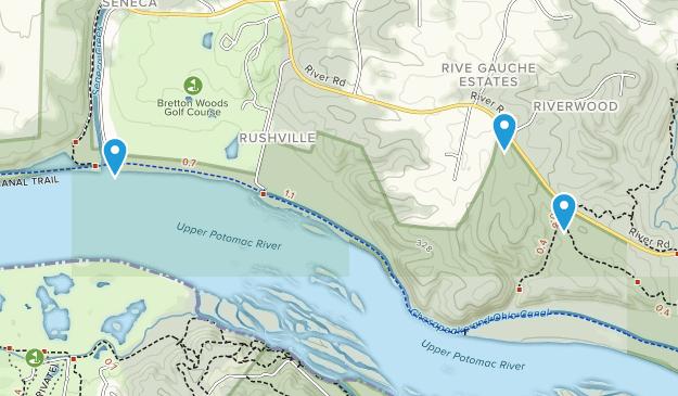 Parque Blockhouse Point Map
