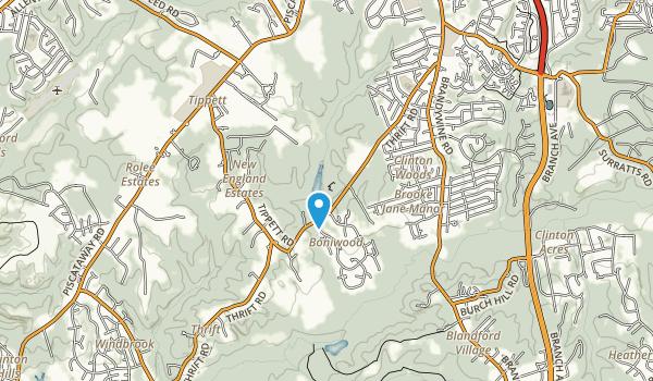 L P Cosca Regional Park Map