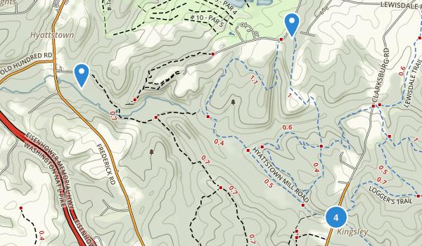 Little Bennett Regional Park Map