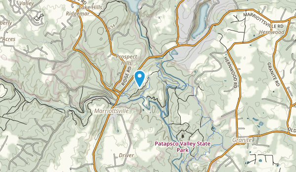 McKeldin Recreation Area Map
