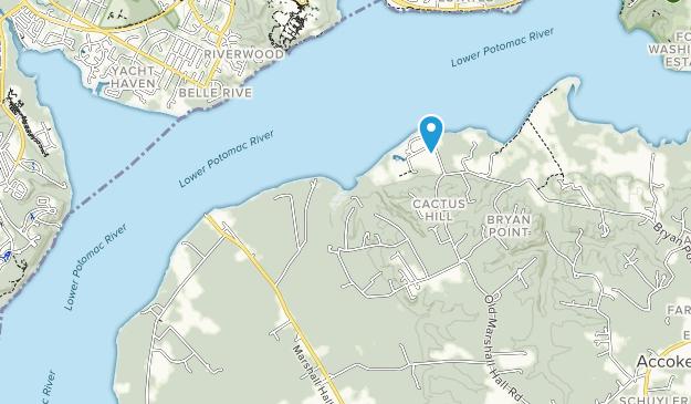Piscataway Park Map