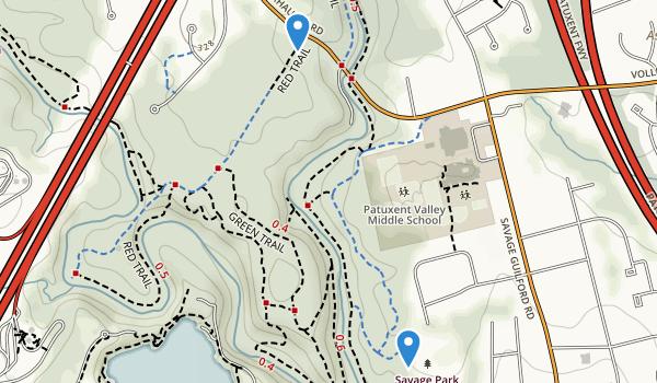 Savage Park Map