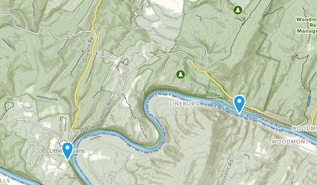 Sideling Hill Wildlife Management Area Map