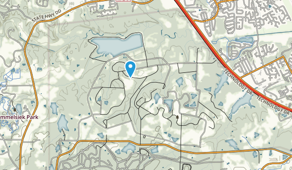 August A Busch Memorial Conservation Area Map