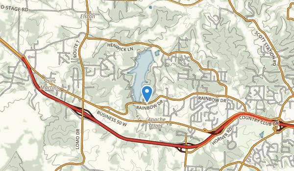 Binder Memorial Park Map