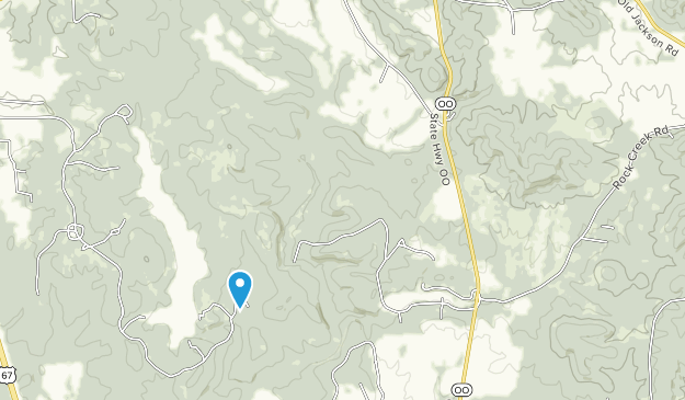 Cherokee Trail Roadside Park Map