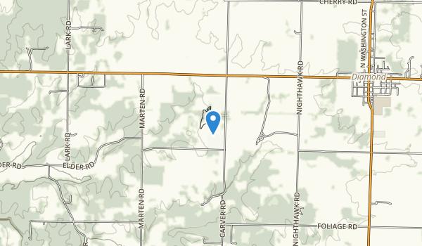 George Washington Carver National Monument Map