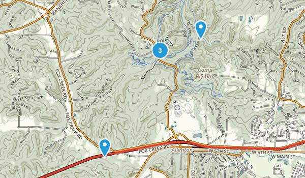 Greensfelder County Park Map