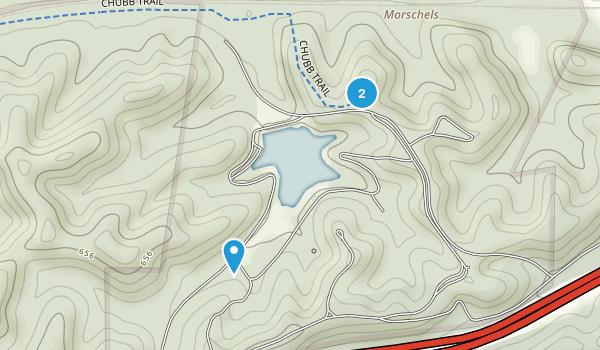 Lone Elk County Park Map