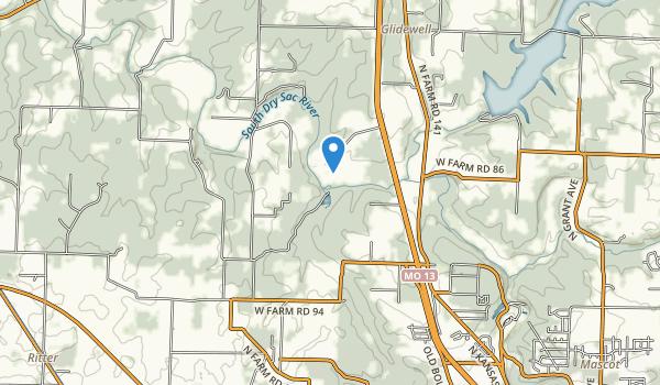 Ritter Springs Park Map