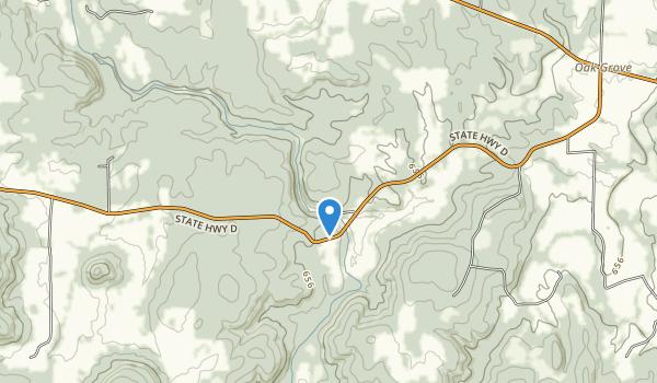 Silver Mine Recreation Area Map
