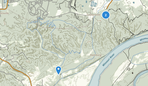 Weldon Spring Conservation Area Map