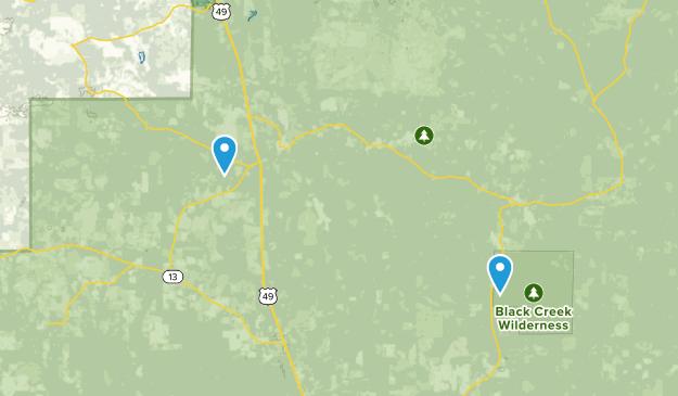 Big Creek Landing Recreation Area Map