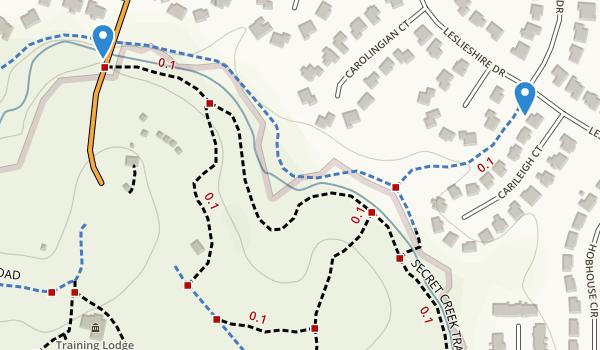 Durant Nature Park Map