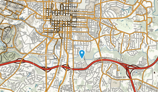 Chavis Park Map