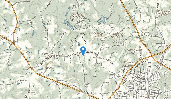 Chinqua Penn Plantation Historical Landmark Map