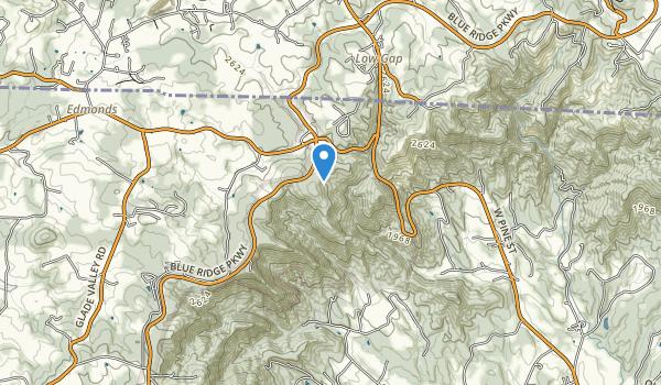 Cumberland Knob Recreation Area Map