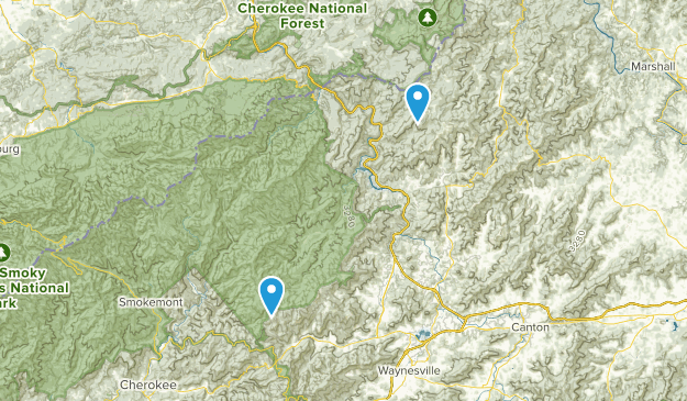 Harmon Den Wildlife Management Area Map