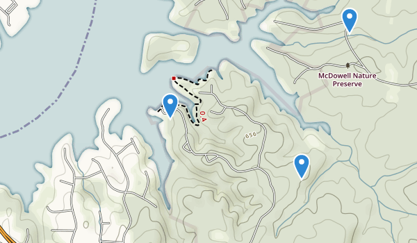 McDowell Park Map