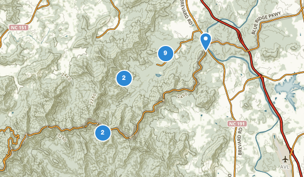 trail locations for Powhatan Recreation Area