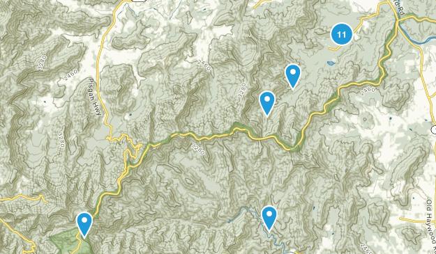 Powhatan Recreation Area Map