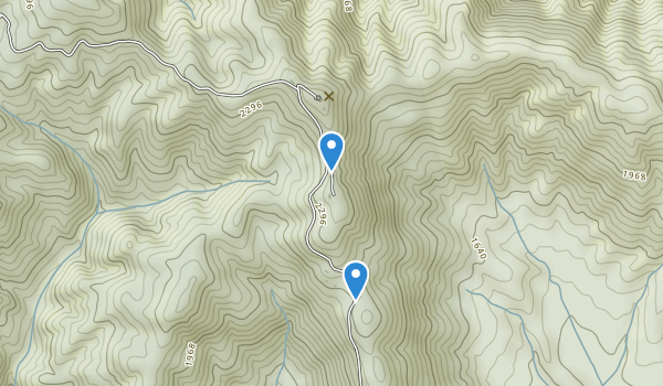 Rendezvous Mountain State Park Map